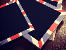 JBW2 - Union Jack Chalkboard Tickets - 95x80mm