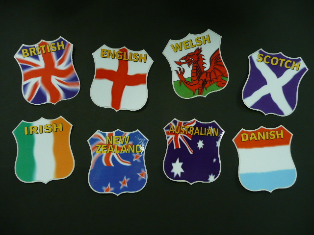 SAF2 - British Flag Sticker for MB12