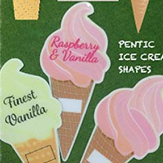 GS30 - Ice Cream Shaped Label